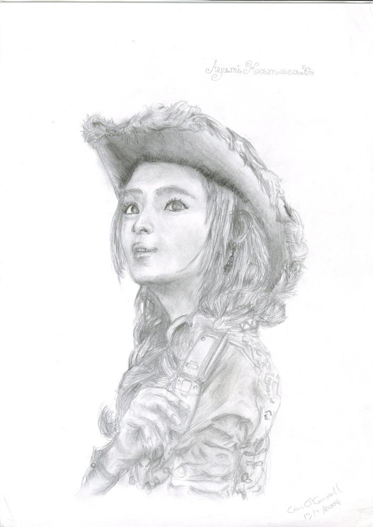 Ayumi Hamasaki  TuKa Mobile Ad by Rakarth