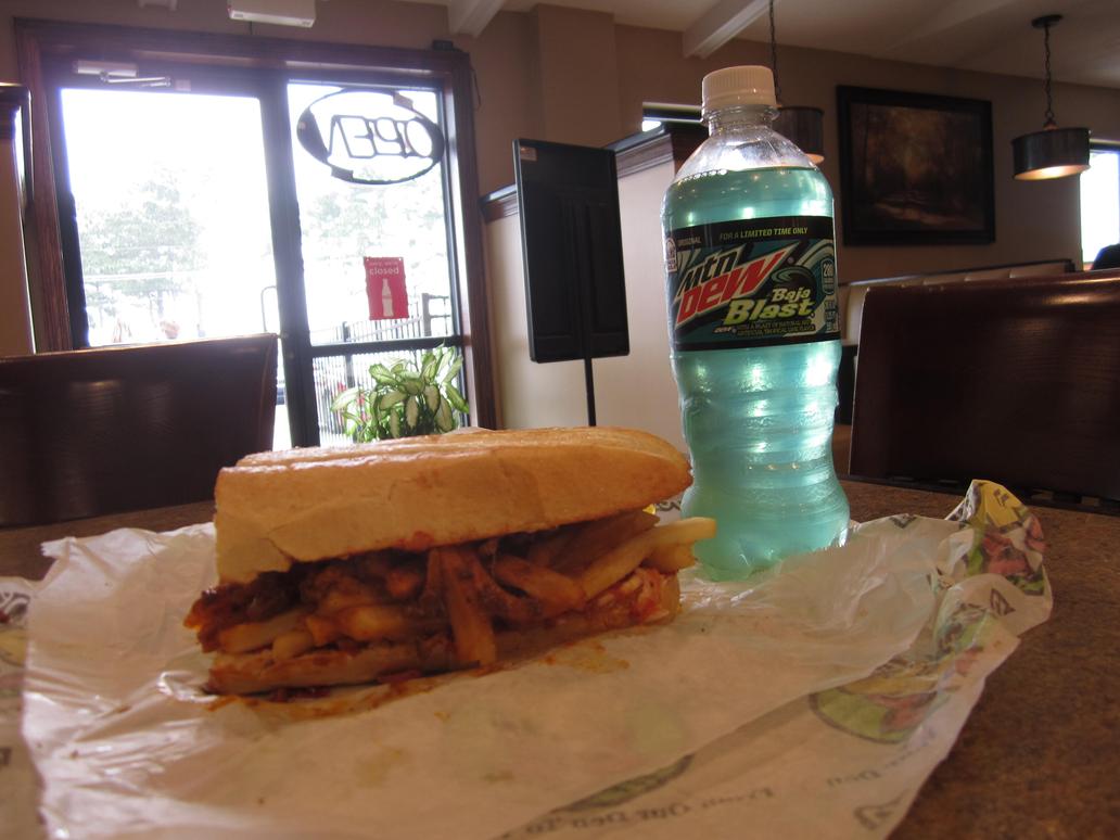 Chilli Meaty Sandwich! by nickanater1