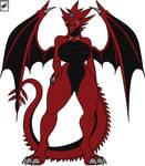 Slifer the Sky Dragoness Babe Color (credit)