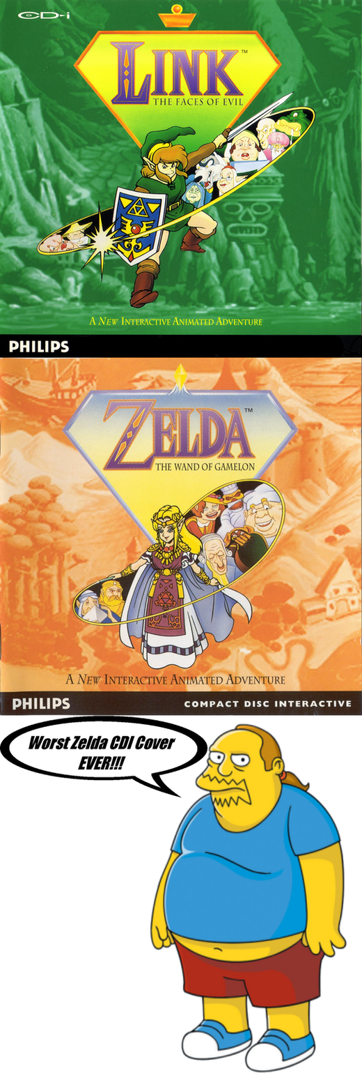 My Reaction of Zelda CDI Cover by nickanater1
