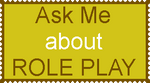 Role Play Ask Stamp by nickanater1