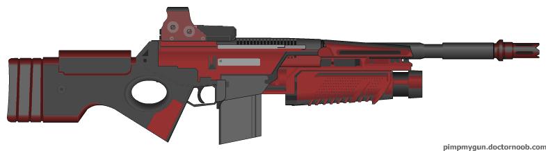 X-Series Olympian MC-R1 Heavy Rifle by nickanater1