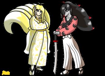 Nozomu Celias and Yuki Krancker