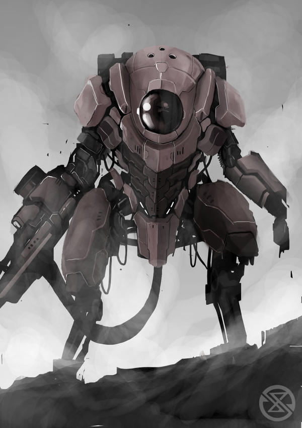 mecha4 by legowosnake