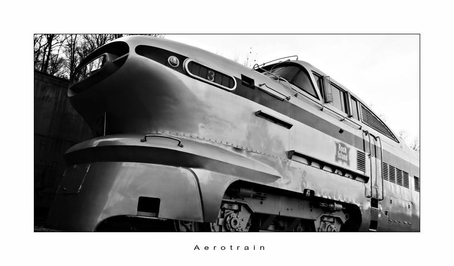 C4D Aerotrain by cravingfordesign