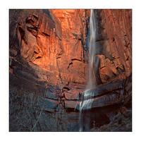 C4D Zion Canyon Waterfall