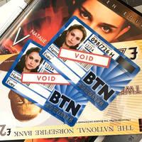 Evey Hammond BTN ID Replicas from V for Vendetta