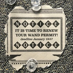 Wand Permit Scrap Replica by Mike-the-Vector