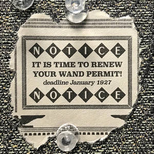 Wand Permit Scrap Replica