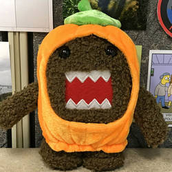 Pumpkin Costume Domo-kun