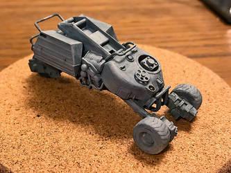 Kitbashed Robot Trike Model