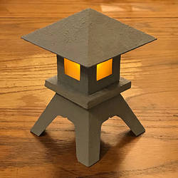 Mock Stone Lantern Progress