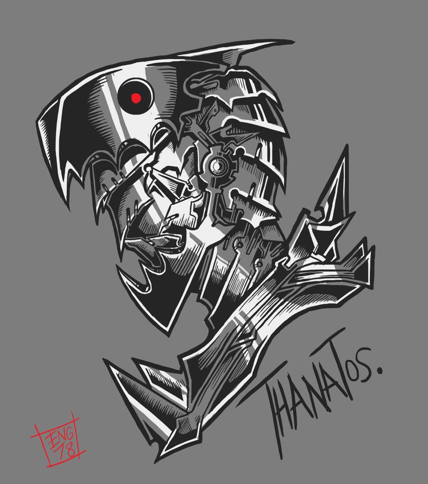 Thanatos by Engraver78