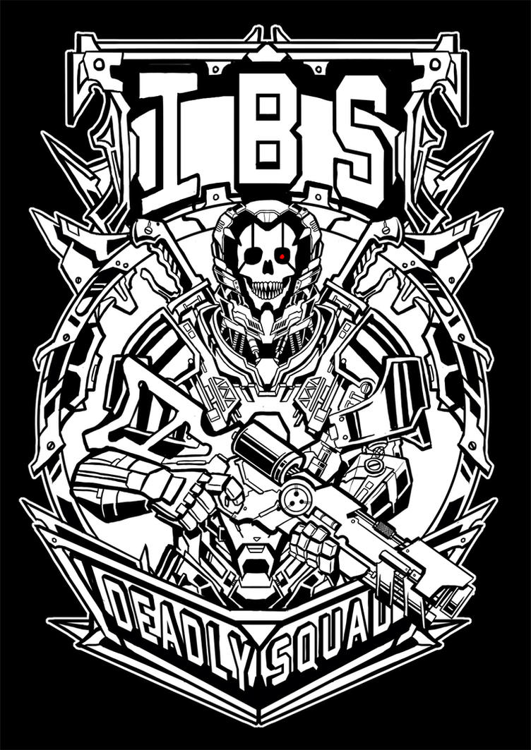 Deadly Squad IBS by Engraver78