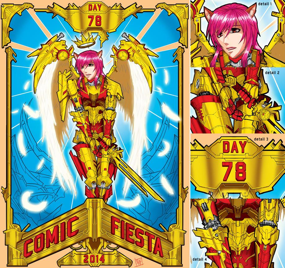 Comic Fiesta Countdown 2014 by Engraver78