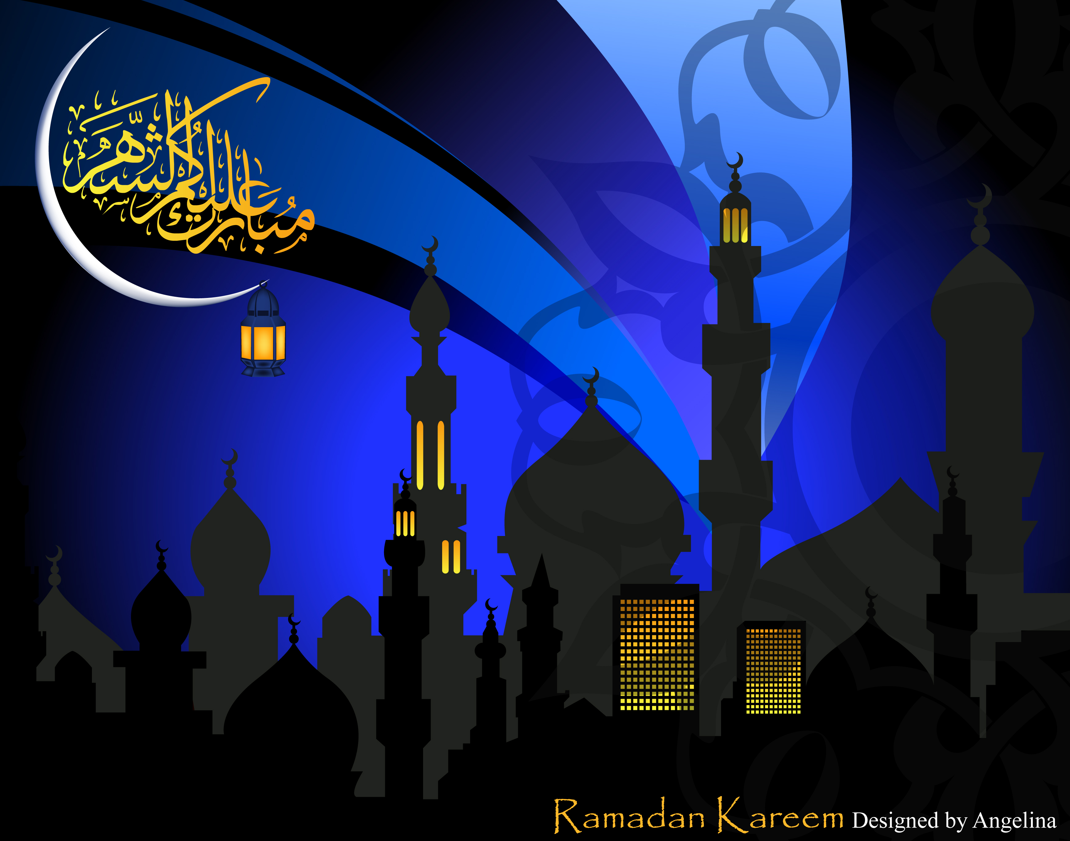 ramadan kareem by lina82 digital art vector other ramadan kareem ...