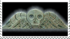Winged Death Stamp