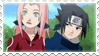 SasuSaku Stamp 2 by Shay-Sama