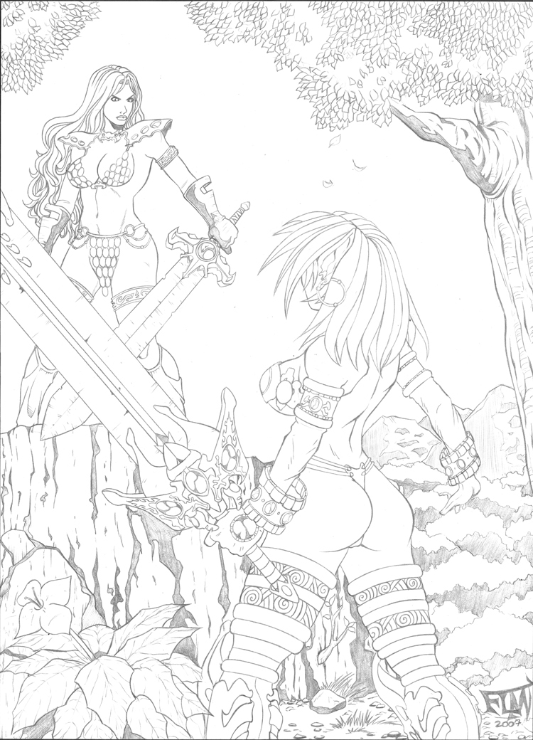 Red Sonja X Victory by SuiGenesis