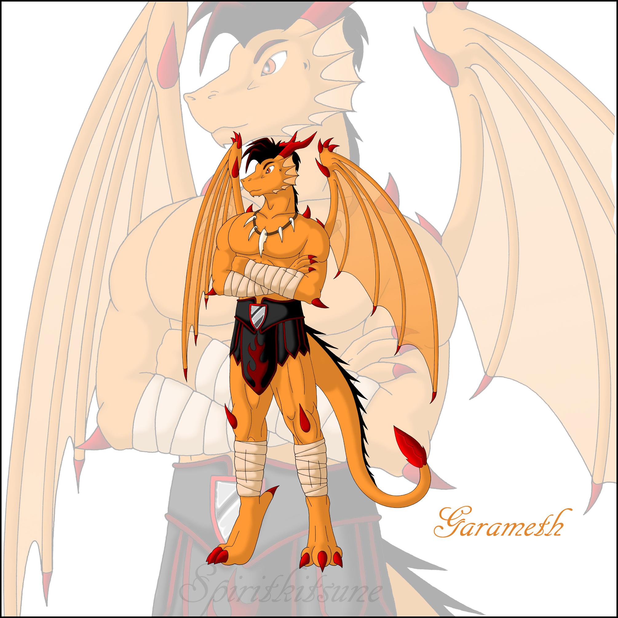 Dragon Garameth by spiritkitsune-dr
