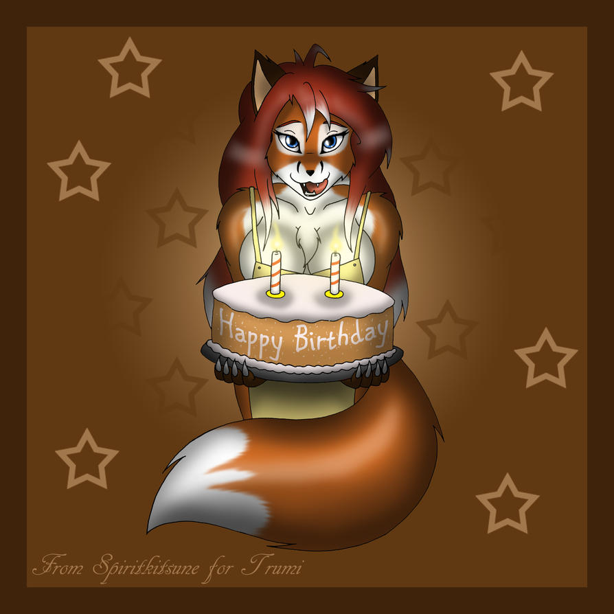 Happy Birthday by spiritkitsune-dr