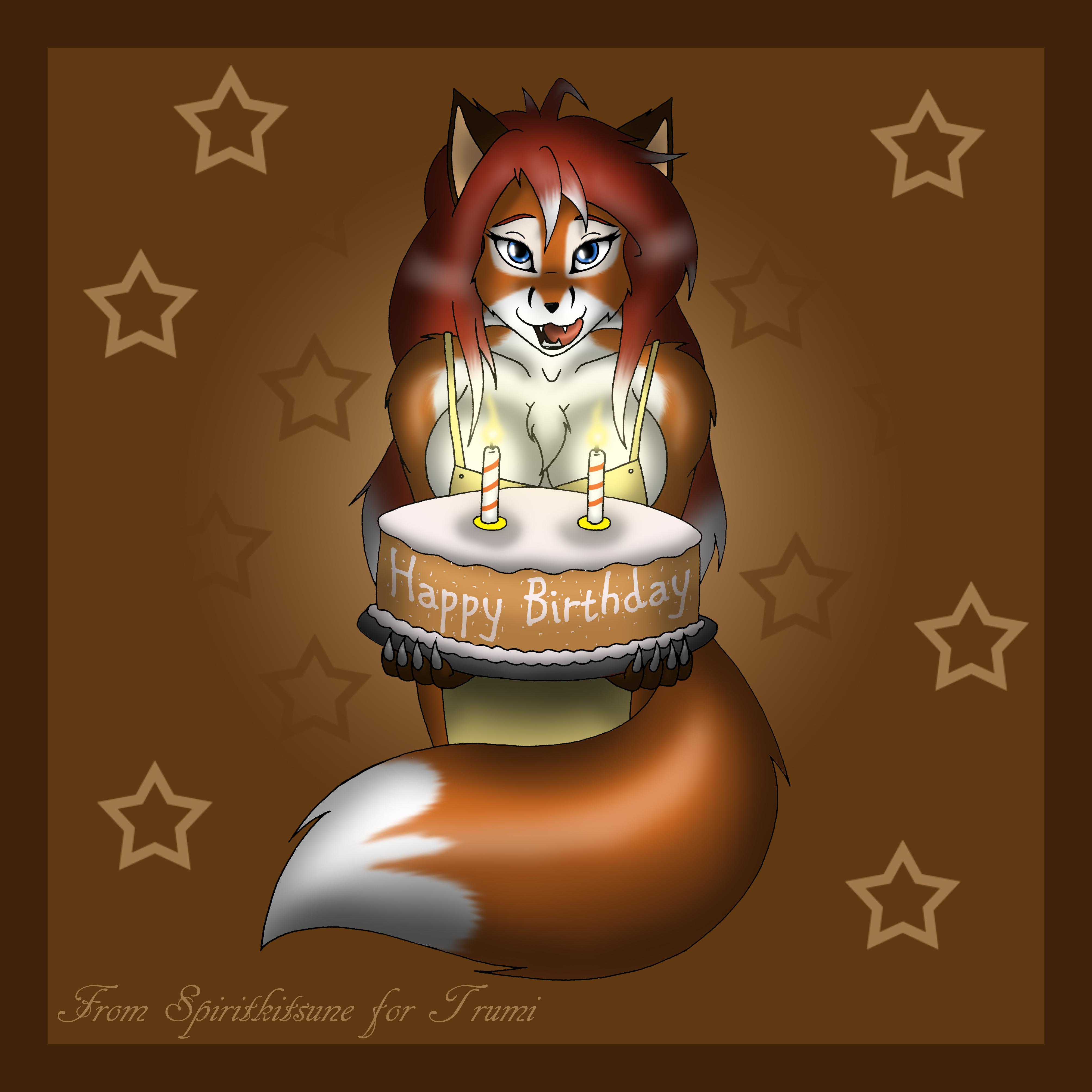 Happy Birthday by spiritkitsune-dr
