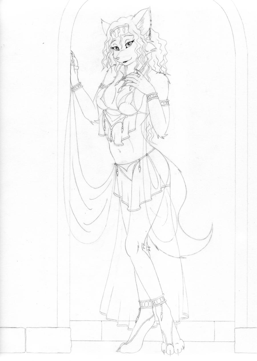 First design Dana Nightshade by spiritkitsune-dr