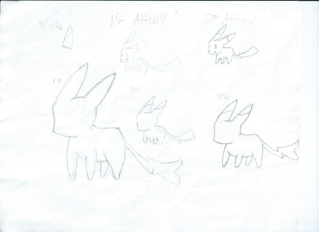 Learning to Draw A Pikachu by DerekWatterson
