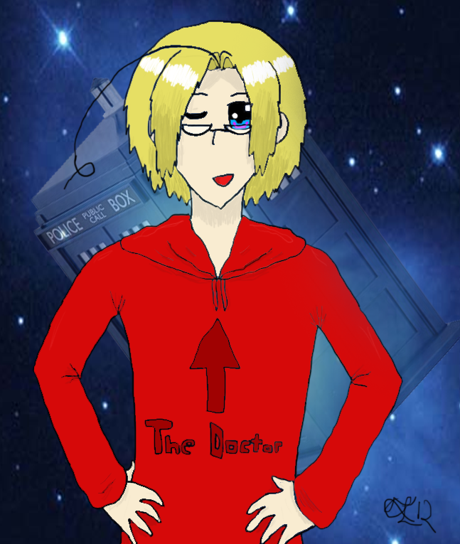 Doctor Who(talia) Doctor_whotalia___the_doctor_by_lionstryke-d584fe8