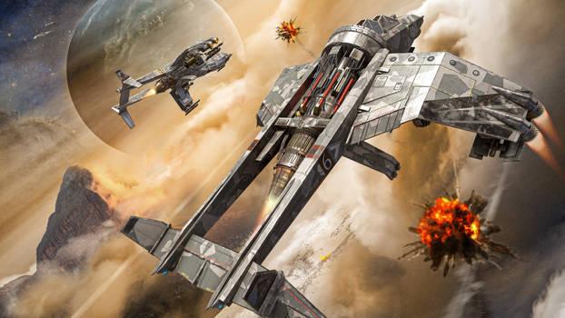 Vulture Gunship 01