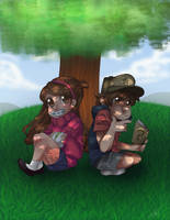 Gravity Falls by bobcoolster