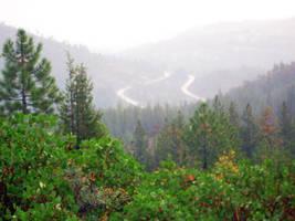 Landscape Stock - Sierra Mist by DigitalButterflyy