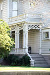 Victorian House Side Porch
