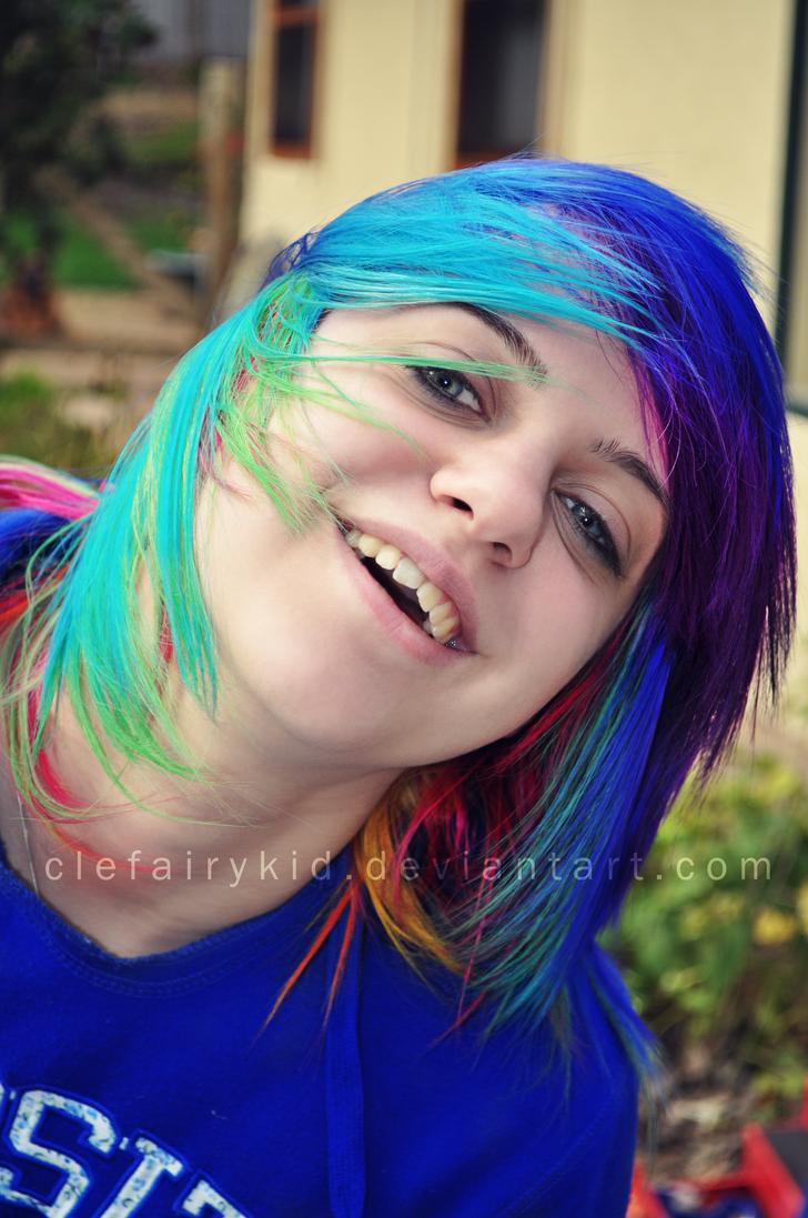 Rainbow ClefairyKid by ClefairyKid