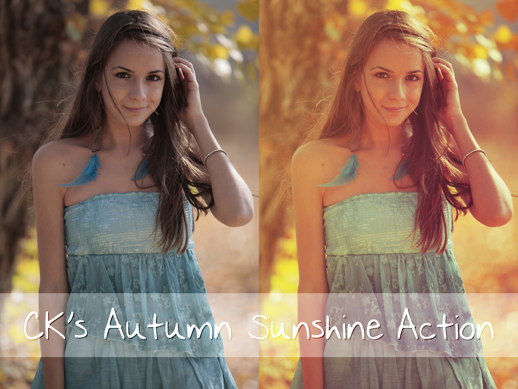 CK's Autumn Sunshine Action by ClefairyKid