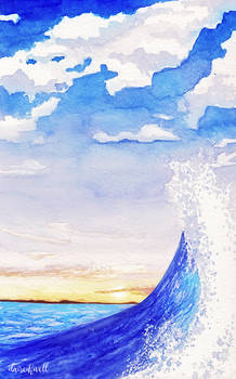 Watercolour Wave