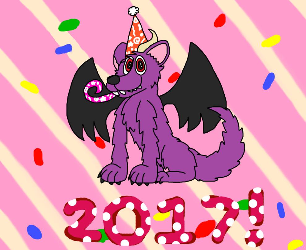 Happy New Year! by SkrillexWolf777
