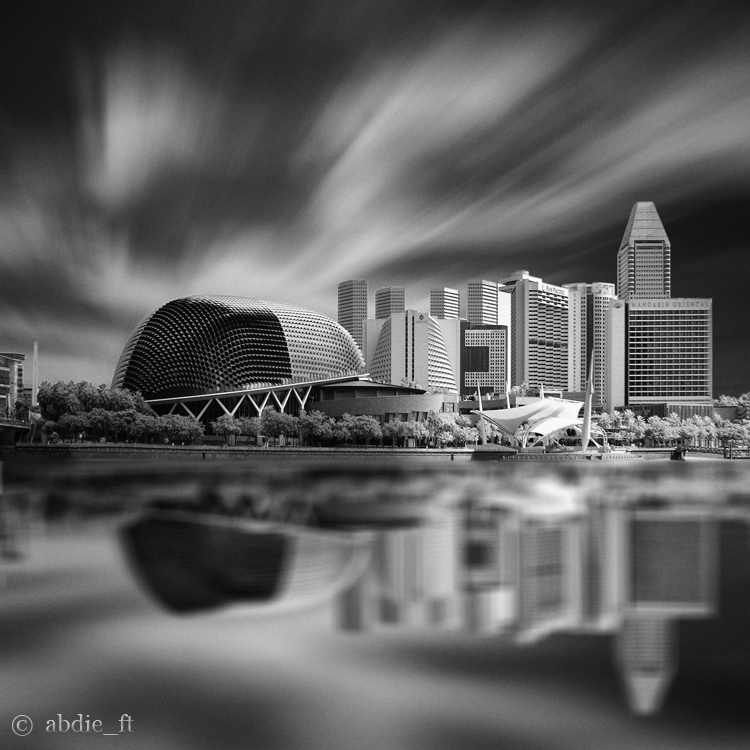 Esplanade Reflection by abdieft