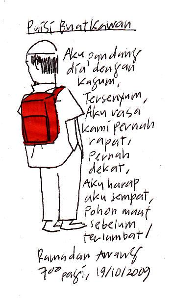Puisi Buat Kawan by rdhanz