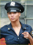 Beyonce in uniform NYPD 8