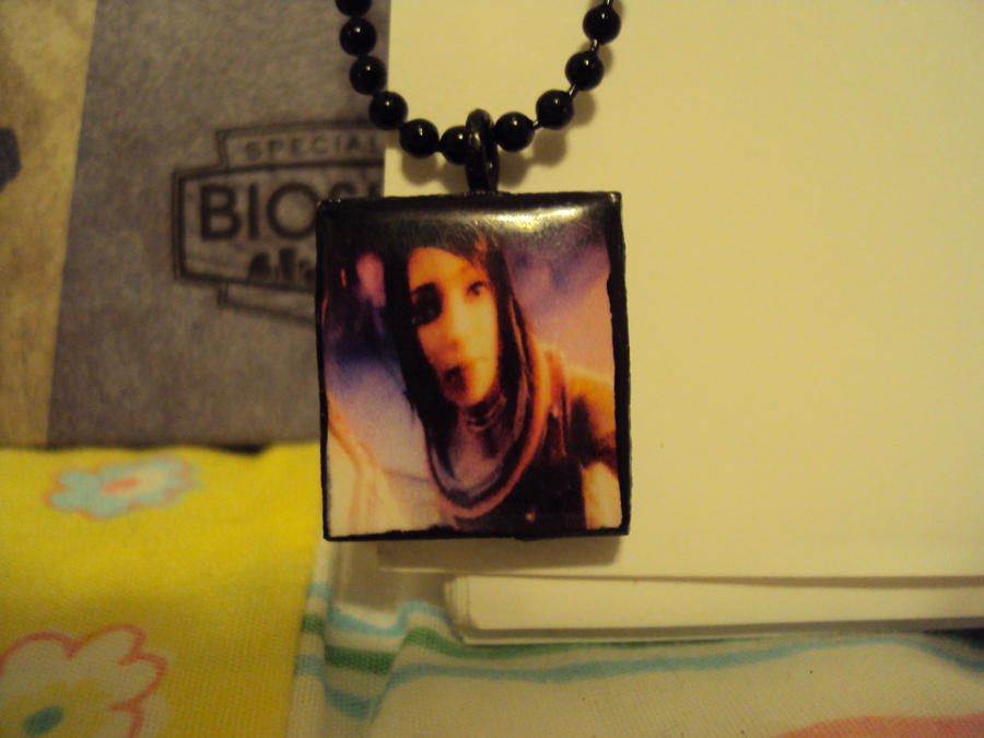 My Eleanor lamb necklace by NefariousDrunkPunx