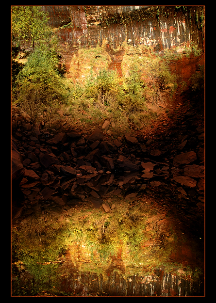 Upper Emerald Pool, Zion by narmansk8