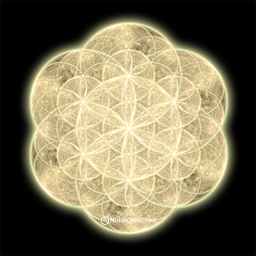 flower of life in egypt