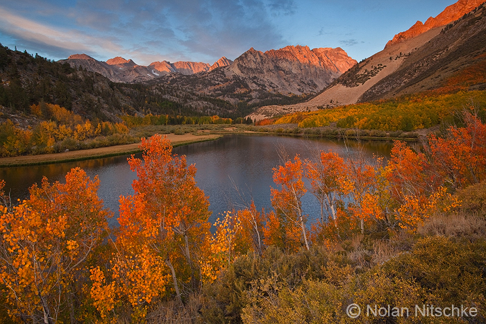 North Lake Sunrise by narmansk8