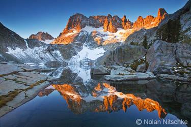 Iceberg Lake by narmansk8