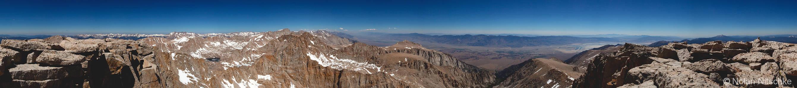 Mt. Langley Summit 360 Pano