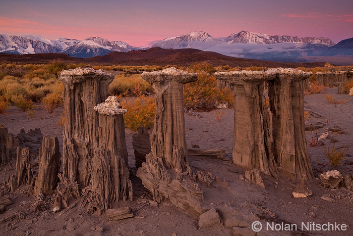Mono Lake Sand Tufa Dawn by narmansk8