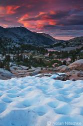 Sabrina Basin Sunset by narmansk8