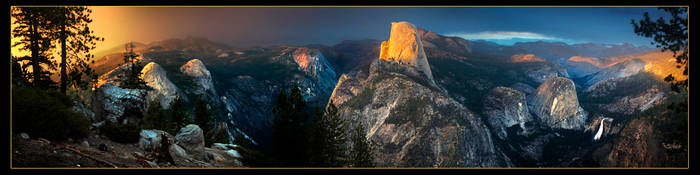 Yosemite Panorama by narmansk8
