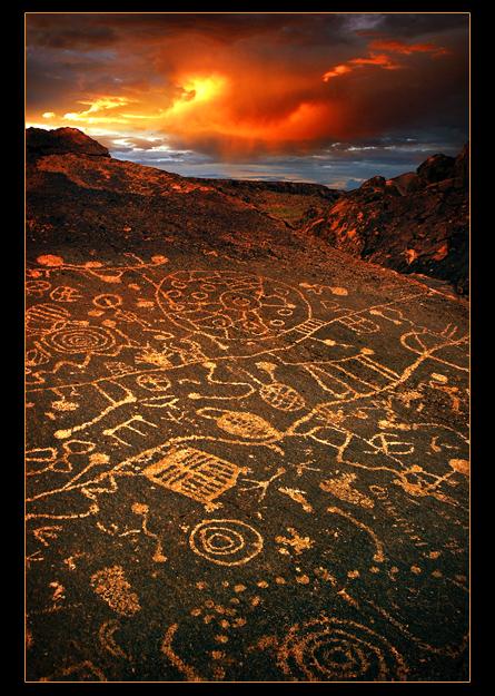 Portrait of a Petroglyph by narmansk8